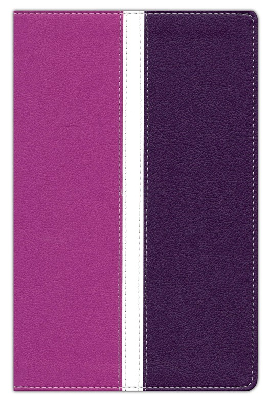Amplified Bible, Italian Duo-Tone, Dark Orchid/Deep Plum