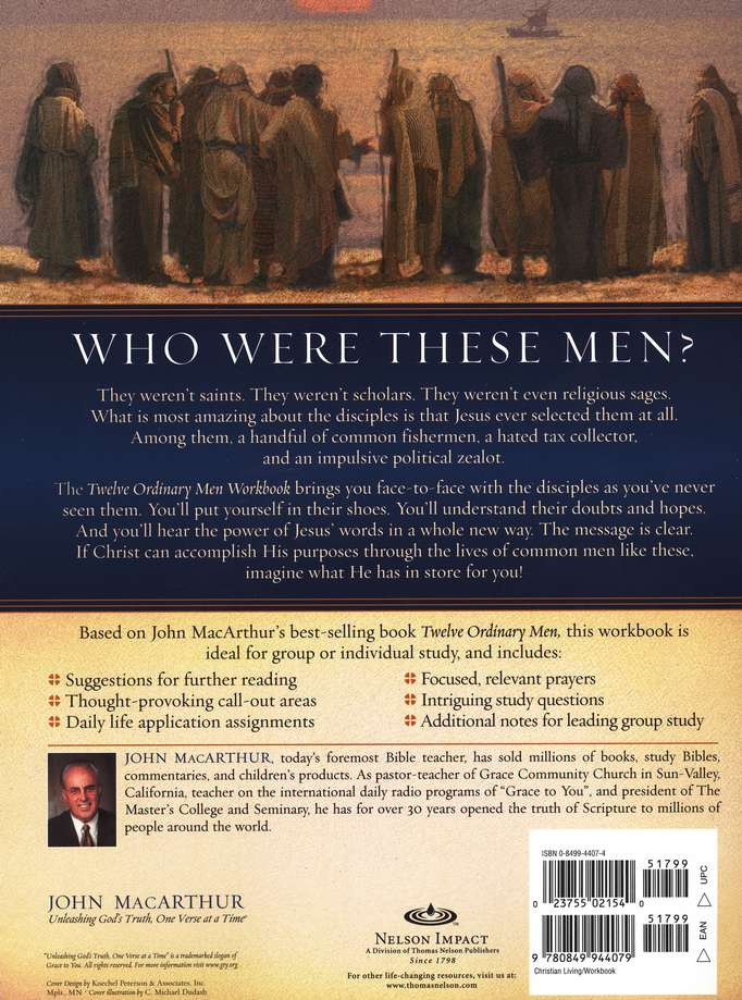 Twelve Ordinary Men Workbook