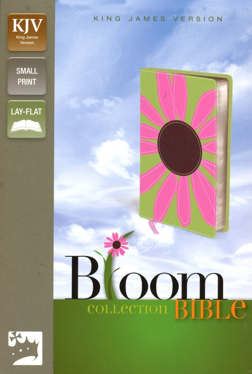 KJV Thinline Bloom Collection Bible, Compact, Pink Daisy
