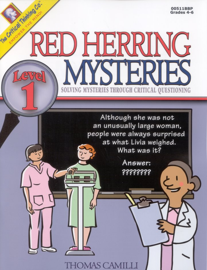 Red Herring Mysteries, Level 1