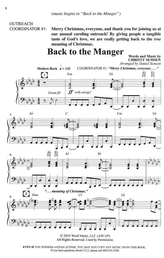 Back to the Manger: A Caroling Adventure through Time