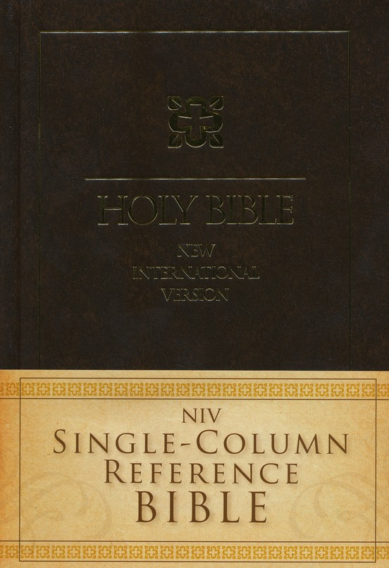 NIV Single-Column Reference Bible