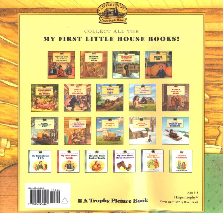 A Little House Birthday, My First Little House Books