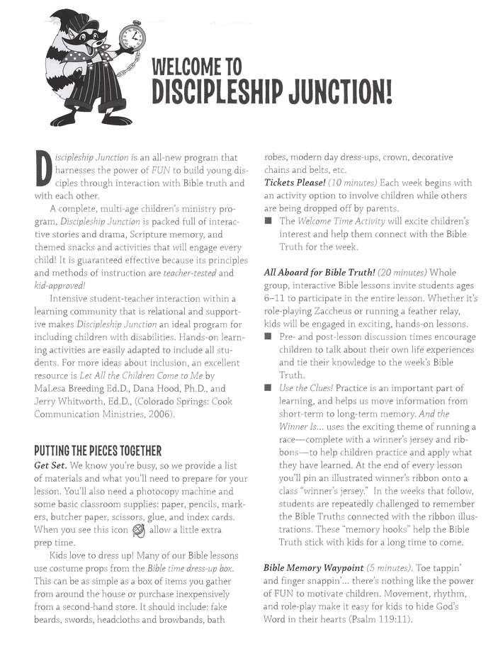 Discipleship Junction: And the Winner is...