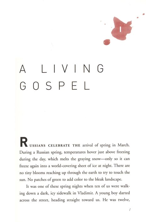 Red Letters: Living a Faith That Bleeds