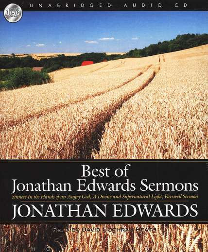 Best of Jonathan Edwards Sermons - audiobook on CD