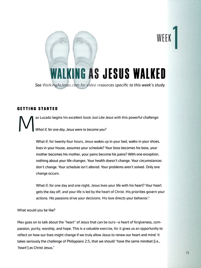 Walking as Jesus Walked: Making Disciples the Way Jesus Did