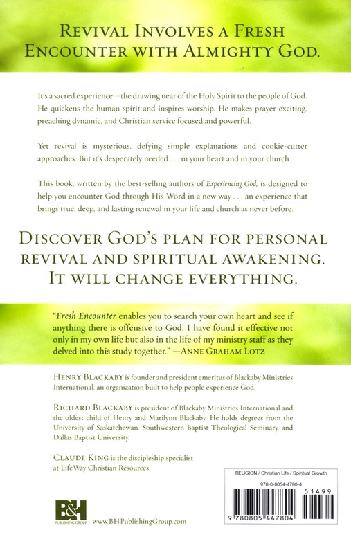 Fresh Encounter: God's Pattern for Spiritual Awakening, Revised and Expanded