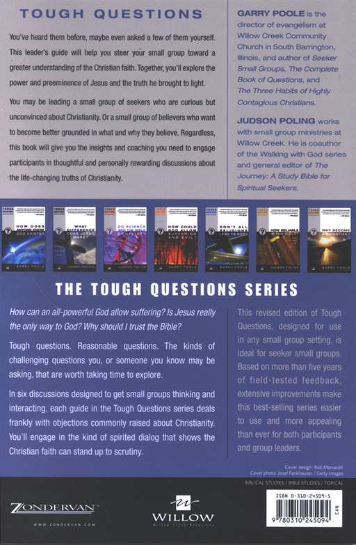 Tough Questions Leader's Guide Tough Questions, Revised Edition