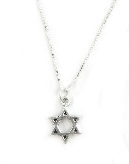 Star of David Modern Pendant