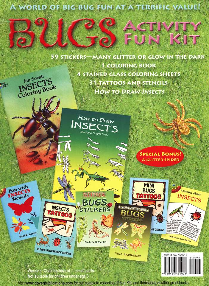 Bugs Activity Fun Kit