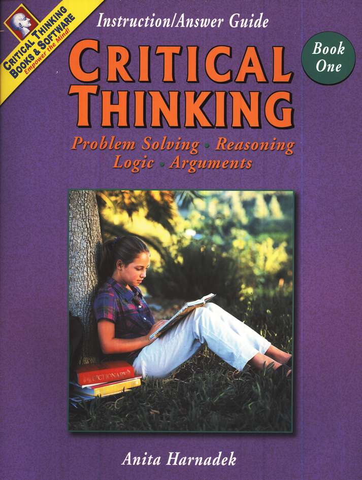 Critical Thinking Book 1 Instructional/Answer Guide