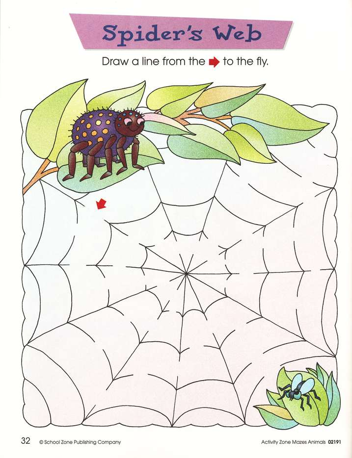 Mazes Animals, Ages 4-6