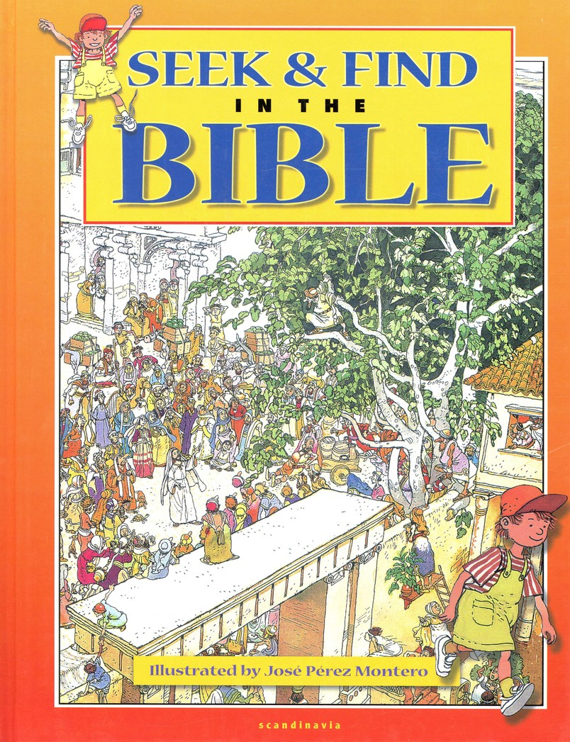 Seek and Find in the Bible without CD-Rom