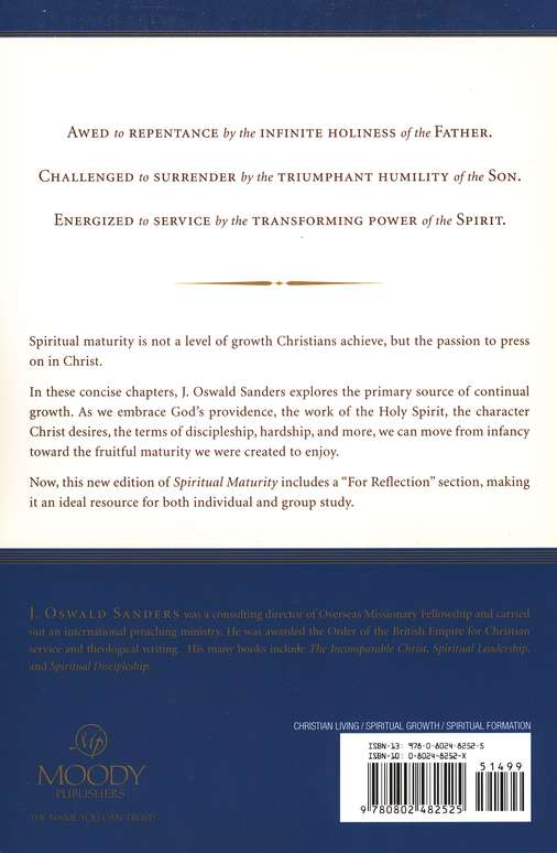 Spiritual Maturity: Principles of Spiritual Growth for Every Believer