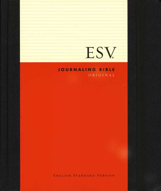 ESV 2-Column Journaling Bible, Original, Black
