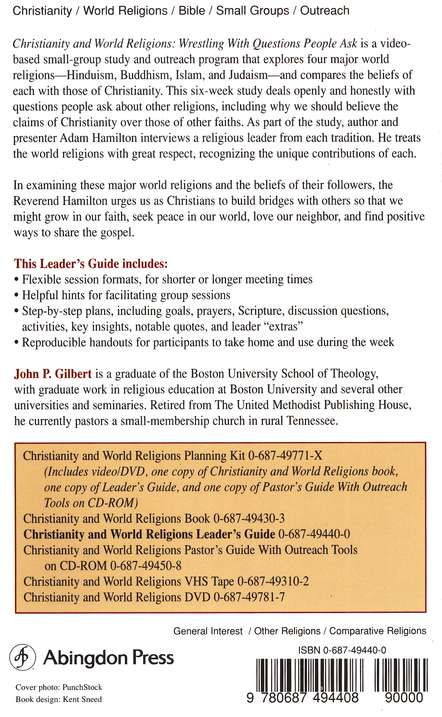 Christianity & World Religions: Wrestling with Questions People Ask - Leader's Guide