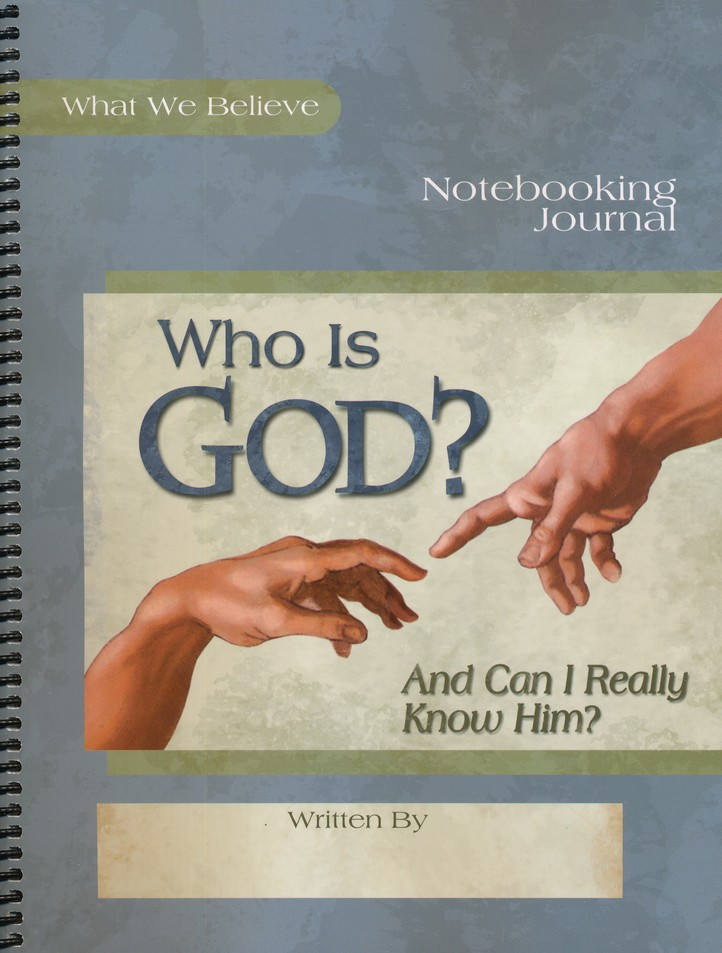 Who is God? Notebooking Journal
