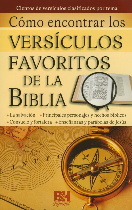 Como Encontrar los Versiculos Favoritos de la Biblia, Pamfleto  (Where to Find Favorite Bible Verses Pamphlet)