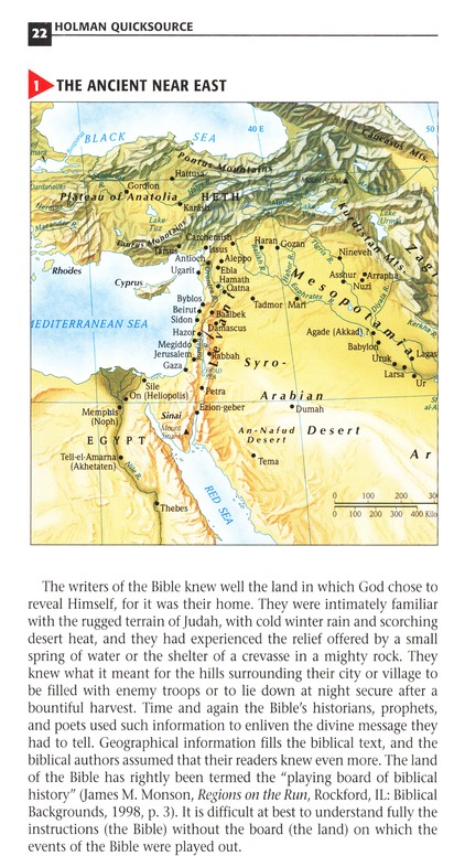 Holman QuickSource Bible Atlas