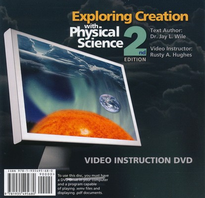 Exploring Creation with Physical Science Video Instruction DVD-Rom