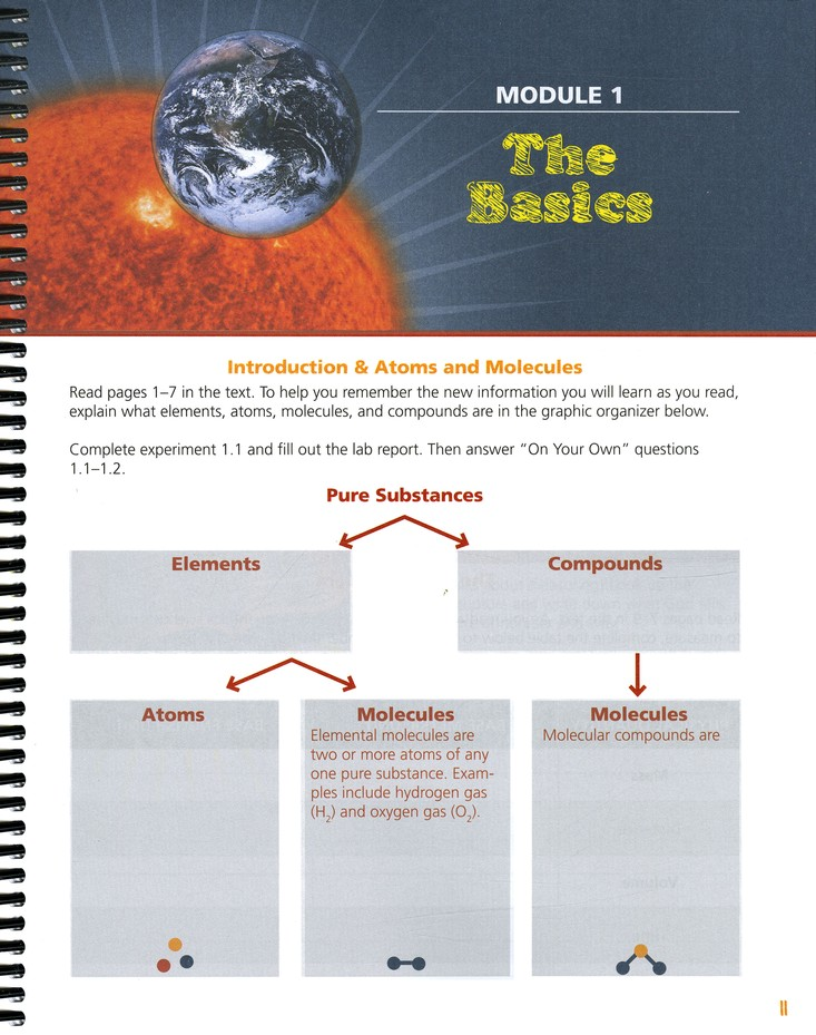 Exploring Creation with Physical Science, Second Edition, Student Notebook