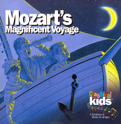 Mozart's Magnificent Voyage       - Audiobook on CD