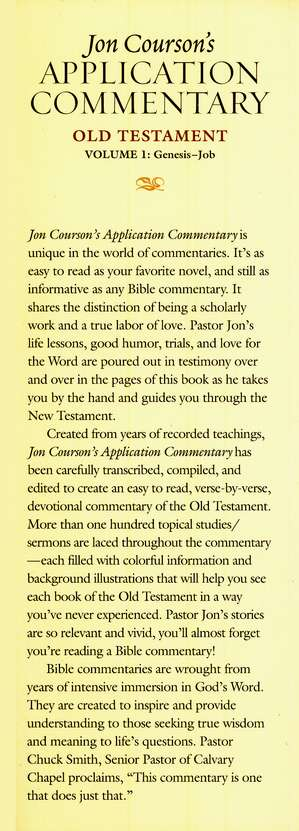 Courson's Application Commentary on the Old Testament, Volume 1: Genesis-Job