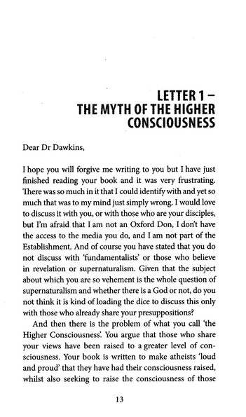 Dawkins Letters, Revised Edition
