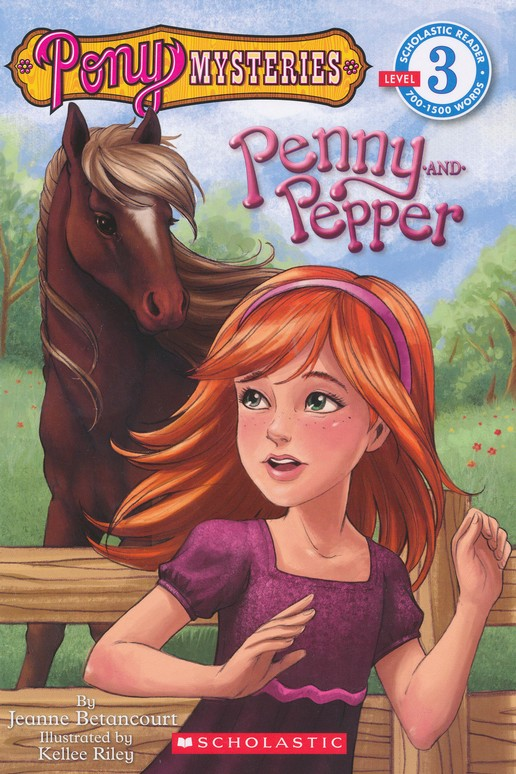 Pony Mysteries: Penny and Pepper Level 3 Scholastic Reader