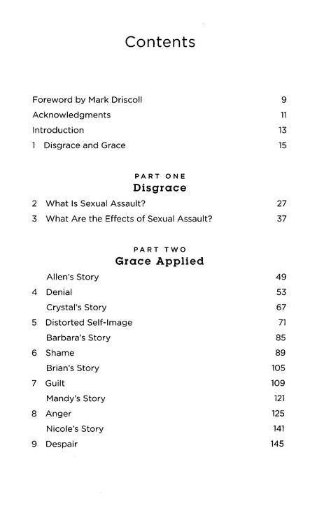 Rid of My Disgrace: Hope and Healing for Victims of Sexual Assault (Foreword by Mark Driscoll)