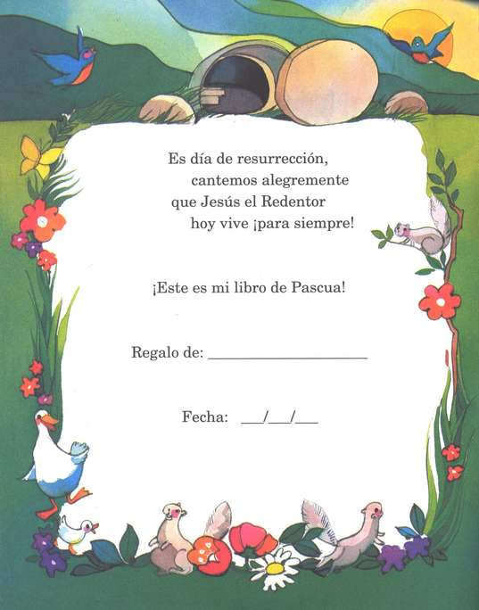Mi Libro de Pascua  (My Easter Book)