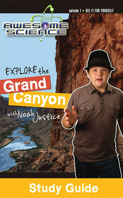 Explore with Noah Justice DVD Pack with Study Guides: Episodes 1-3, Awesome Science Series