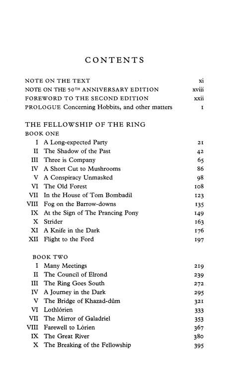 The Lord Of The Rings, 50th Anniversary Edition