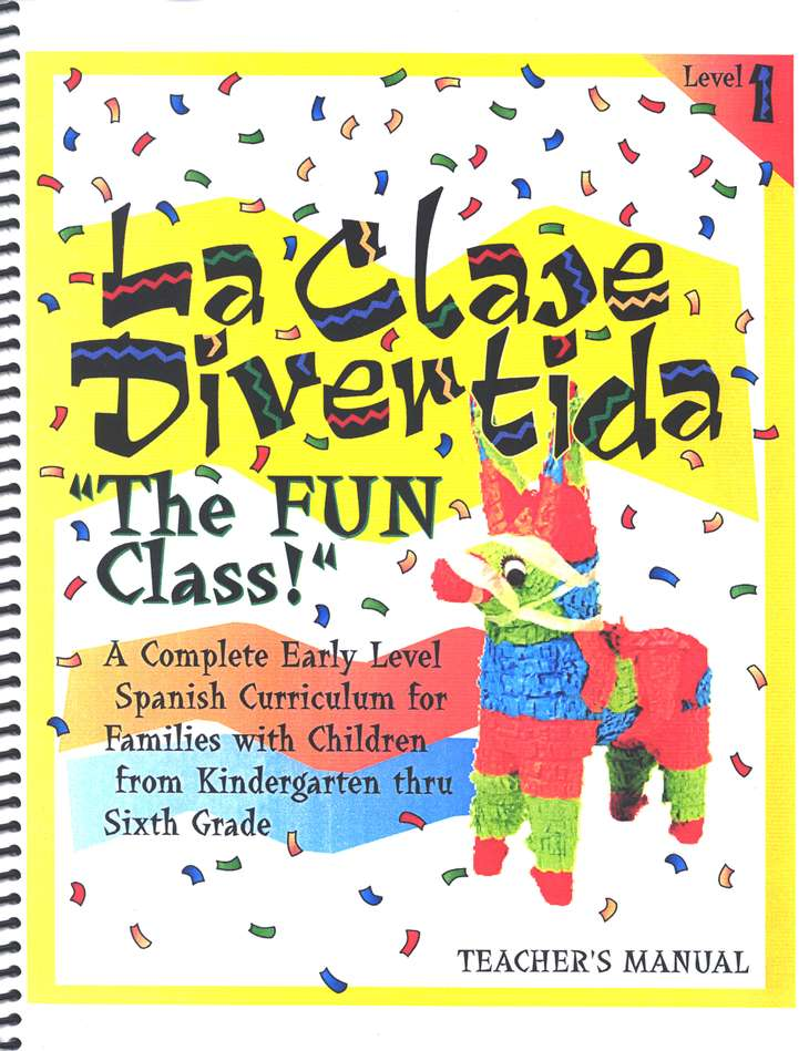 La Clase Divertida (The Fun Class!) Level 1 Kit     with DVD