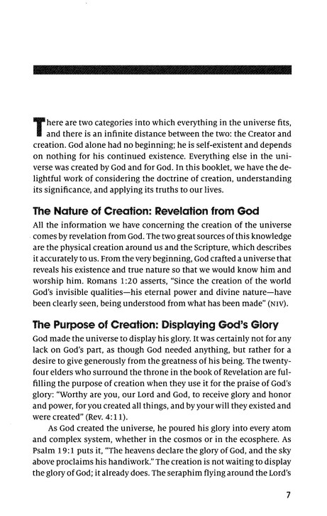 Creation: Gospel Coalition Booklets