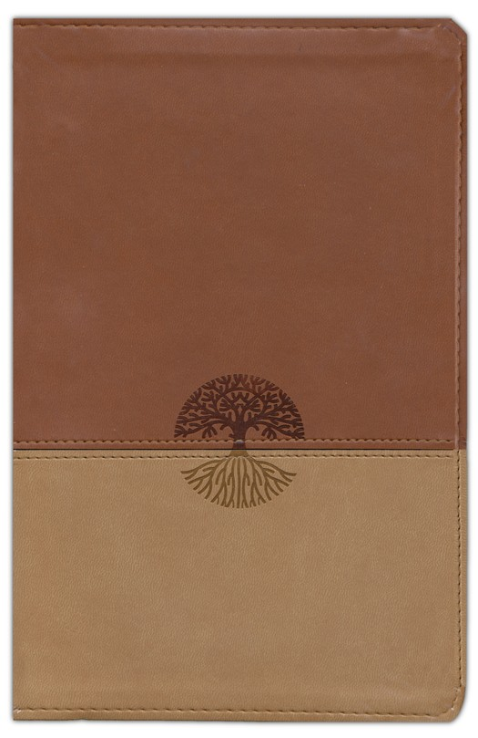 ESV New Classic Reference Bible (TruTone, Brown/Tan, Tree Design)