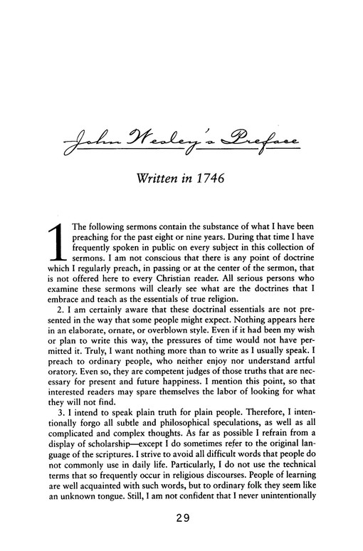 John Wesley on Christian Beliefs: Volume I, 1-20 The Standard Sermons in Modern English
