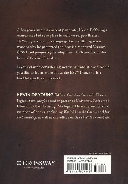 Why Our Church Switched to the ESV, Pack of 10
