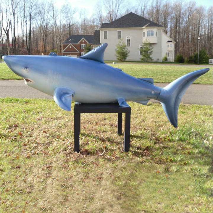 Shark Inflatable Lifelike Animal, 84 Long