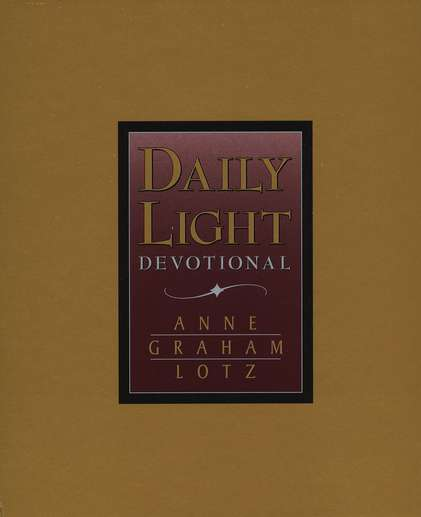 Daily Light Devotional (NKJV), Bonded Leather, Burgundy