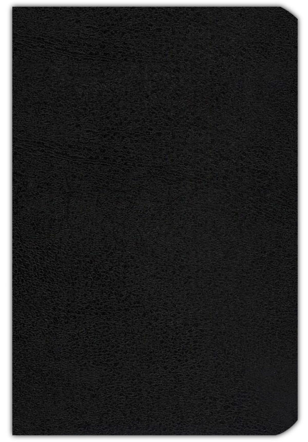 KJV Companion Bible, genuine leather, black, thumb-indexed