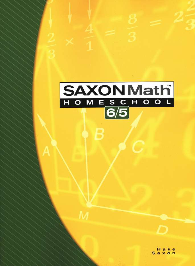 Saxon Math 6/5 Kit & DIVE CD-Rom, 3rd Edition