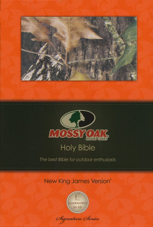 NKJV Personal Size Giant Print Reference Bible, Mossy Oak Edition, Leathersoft Camo