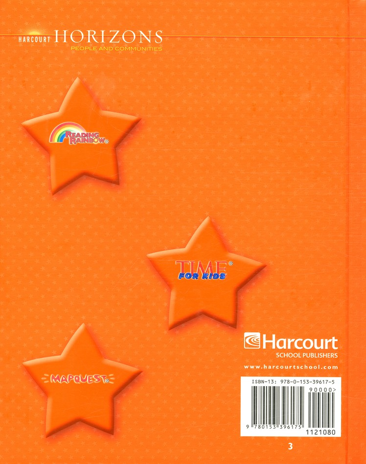 Harcourt Horizons Grade 3 Homeschool Package with Parent Guide CD-ROM
