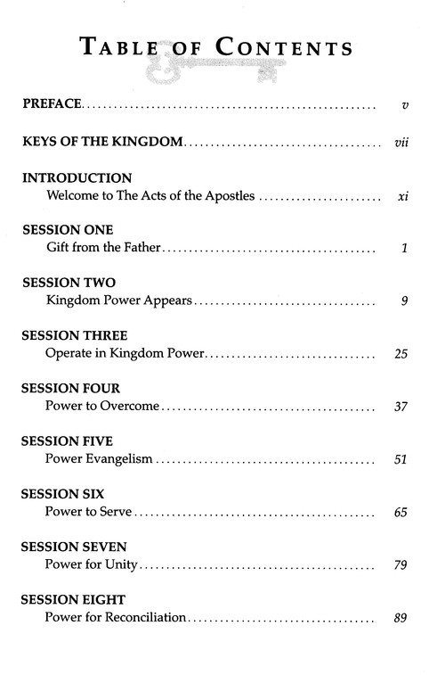Acts: Kingdom Power, Spirit Filled Life Study Guide Series