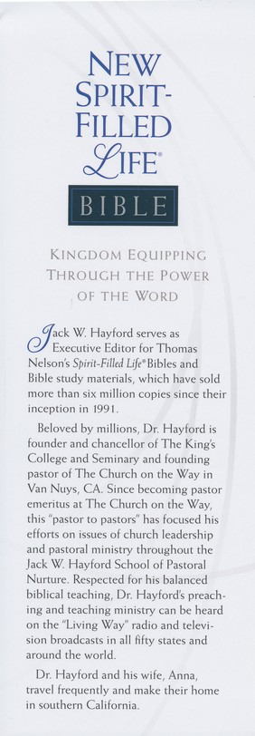 NKJV New Spirit Filled Life Bible, Hardcover
