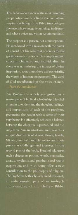 The Prophets, Volumes 1 & 2
