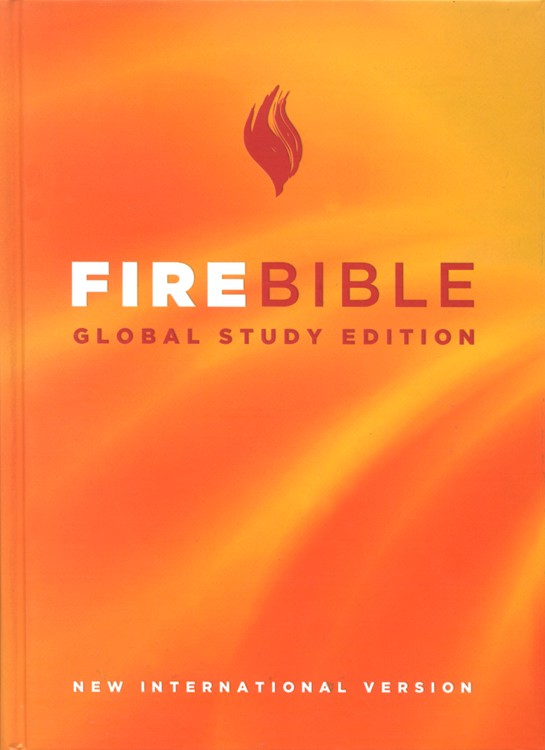 NIV Fire Bible, Global Study Edition, hardcover 1984