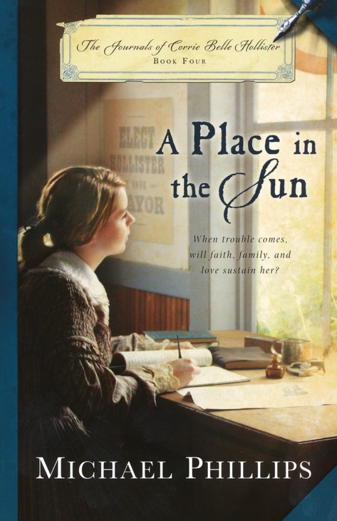 A Place in the Sun, Journals of Corrie Belle Hollister Series #4